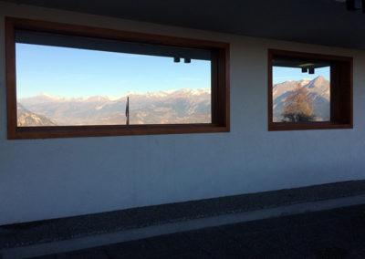 Fenêtres recouvertes de films solaire à effet miroir